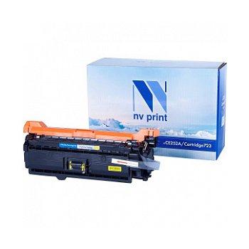 Картридж NVP совместимый NV-CE252A/NV-723 Yellow