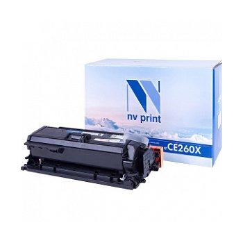 Картридж NVP совместимый NV-CE260X Black