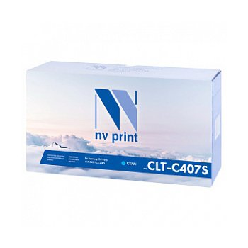 Картридж NVP совместимый NV-CLT-C407S Cyan