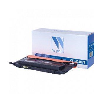 Картридж NVP совместимый NV-CLT-K407S Black