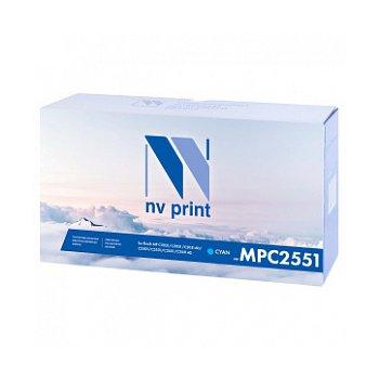 Тонер-картридж NVP совместимый NV-MP C2551 Cyan