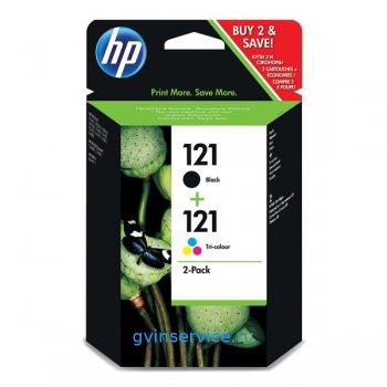 Картридж HP 121 Black/Tri-color