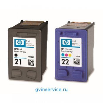 Картридж HP 21/22 Black/Tri-color