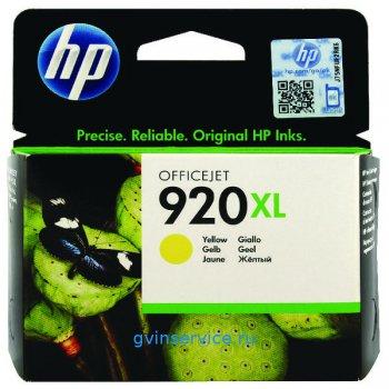 Картридж HP 920XL Yellow