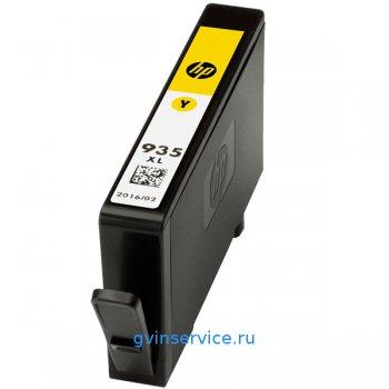 Картридж HP 935XL Yellow