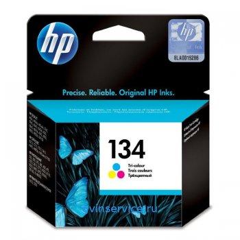 Картридж HP 134 Tri-colour
