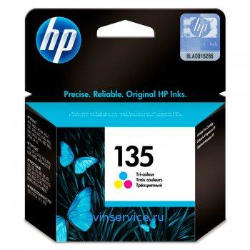 Картридж HP 135 Tri-colour