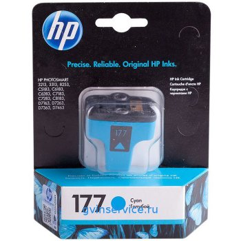Картридж HP 177 Cyan