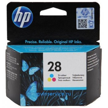 Картридж HP 28 Tri-colour