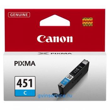 Картридж Canon CLI-451C Cyan