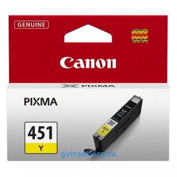 Картридж Canon CLI-451M Yellow