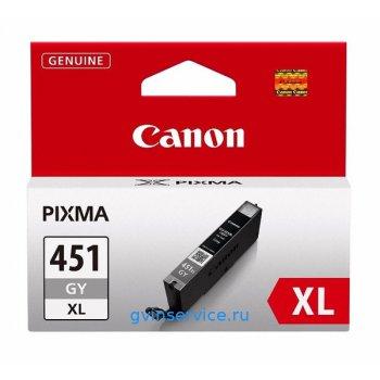 Картридж Canon CLI-451XL Gray