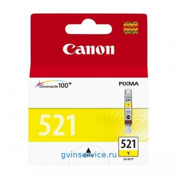 Картридж Canon CLI-521 Yellow