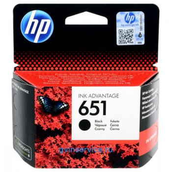 Картридж HP 651 Black