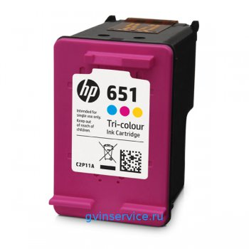 Картридж HP 651 Tri-colour